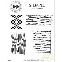 "Studio Forty Stemple ""Winter patterns"" - stamp set #19"